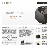 ookla.com screenshot