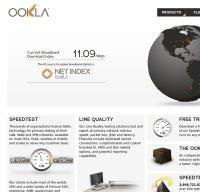 ookla.com screenshot