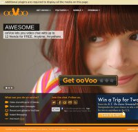 oovoo.com screenshot