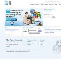 open.ac.uk screenshot