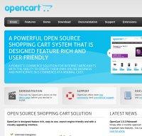 opencart.com screenshot