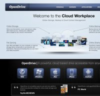 opendrive.com screenshot