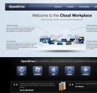 opendrive.com screenshot