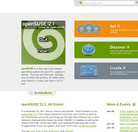 opensuse.org screenshot