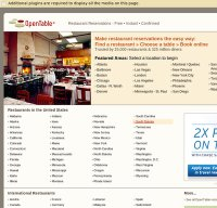 opentable.com screenshot