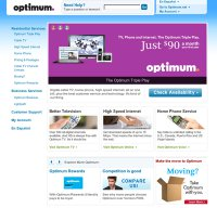 optimum.com screenshot
