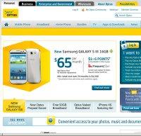 optus.com.au screenshot