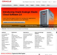 oracle.com screenshot