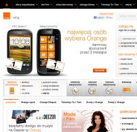 orange.pl screenshot