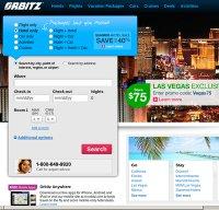 orbitz.com screenshot
