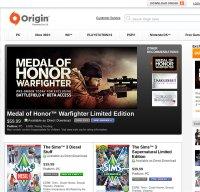 origin.com screenshot