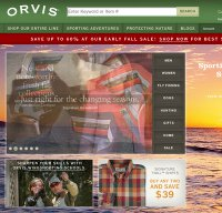 orvis.com screenshot