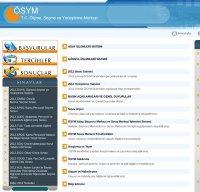 osym.gov.tr screenshot