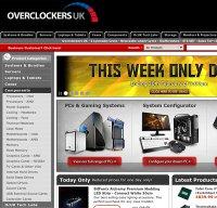 overclockers.co.uk screenshot