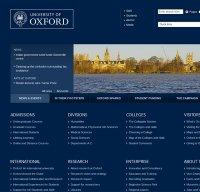 ox.ac.uk screenshot