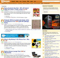 ozbargain.com.au screenshot