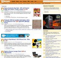 ozbargain.com.au screenshot