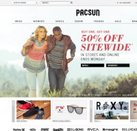 pacsun.com screenshot
