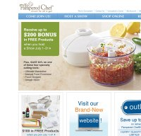 pamperedchef.com screenshot