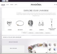pandora.net screenshot