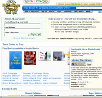 paperbackswap.com screenshot