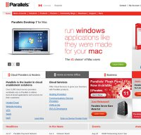 parallels.com screenshot