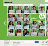patagonia.com screenshot