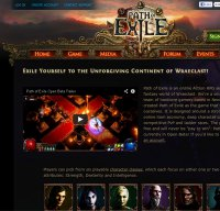 pathofexile.com screenshot
