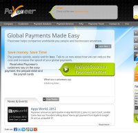 payoneer.com screenshot