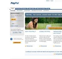 paypal.co.uk screenshot