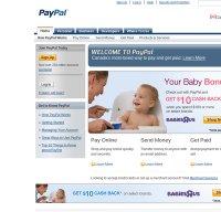 paypal.com screenshot