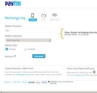 paytm.com screenshot