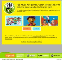 pbskids.org screenshot