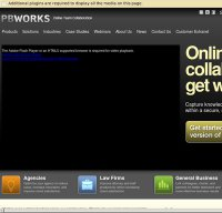 pbworks.com screenshot