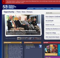 pcc.edu screenshot