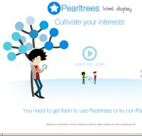 pearltrees.com screenshot