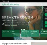 pearsonmylabandmastering.com screenshot