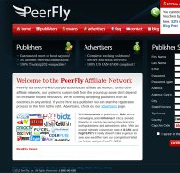 peerfly.com screenshot