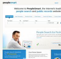 peoplesmart.com screenshot