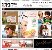 pepperfry.com screenshot