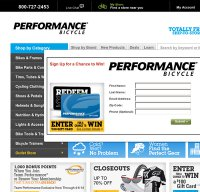 performancebike.com screenshot
