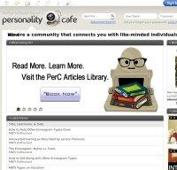 personalitycafe.com screenshot
