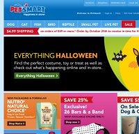 petsmart.com screenshot