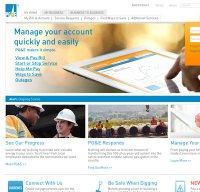 pge.com screenshot