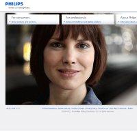 philips.com screenshot