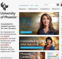 phoenix.edu screenshot