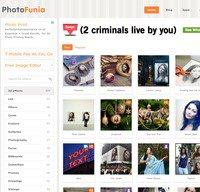 photofunia.com screenshot