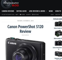 photographyblog.com screenshot