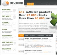phpjabbers.com screenshot