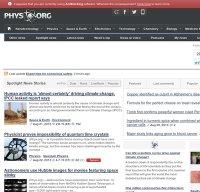 phys.org screenshot